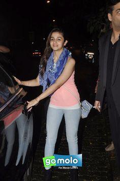 Alia Bhatt snapped at Lido in Mumbai