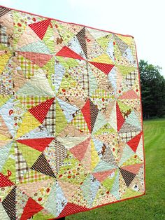 "From the pattern ""Crackle"" by Aneela Hoey"