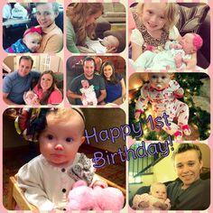 Happy late first birthday to Meredith Grace Duggar! The youngest of the Duggar grandchildren turned one on July 16th!
