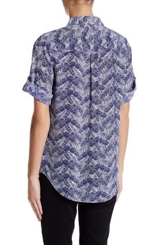 Equipment - Short Sleeve Silk Signature Blouse is now 63% off. Free Shipping on orders over $100.