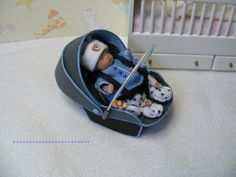 another cute Carseat and doll