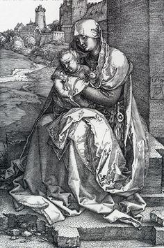 Madonna By The Wall (1514) - Albrecht Durer