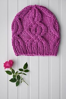 Free Knitting Pattern for a Cable Cross Cap. A dramatically large cable motif swirls four times around this quick-to-knit hat. It is worked seamlessly in the round from the bottom-up. Free Pattern More Patterns Like This! Knitting Yarn, Free Knitting, Free Sewing, Cable Knitting, Free Chunky Knitting Patterns, Ravelry, Universal Yarn, Chunky Yarn, Knitting Accessories