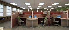 Thiết kế nội thất văn phòng đẹp VP01
