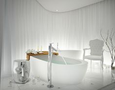 An experience from the Philippe Starck Ciel Spa SLS Hotel Beverly Hills