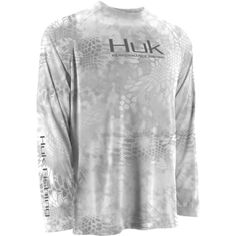 Huk Kryptek Performance Raglan Longsleeve Yeti Grey