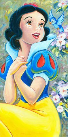Risultati immagini per snow white and the seven dwarfs walt disney world Snow White Drawing, Snow White Art, Disney Princess Snow White, Snow White Disney, Snow White Cartoon, Disney Tattoos, Disney Drawings, Cartoon Drawings, Drawing Disney