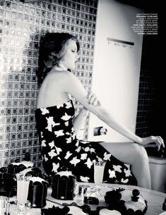 """""""Summer Girl"""", Lindsey Wixson by Ellen von Unwerth for Vogue Russia, July 2015."""