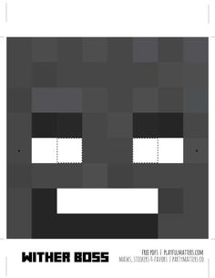 Playful Matters's Birthday / MInecraft masks mobs - Photo Gallery at Catch My Party Minecraft Mask, Minecraft Party, 8th Birthday, Birthday Parties, Birthday Ideas, Adobe, Creative, Cloud, Collection