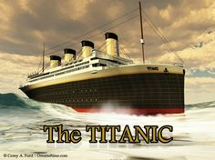 Photo about The grand and elegant Titanic glides through the ocean with ease. Image of iceberg, sinking, ship - 19169122 Titanic Sinking, Titanic Ship, Rms Titanic, Titanic Deaths, Halifax Explosion, Creepy History, Titanic History, Blended Learning, West Side Story