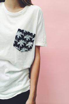 Brandy ♥ Melville | Ieva Palms Pocket Tee - Graphics