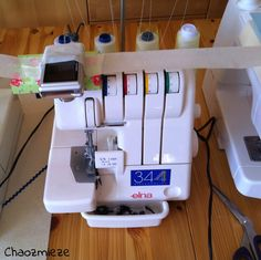 Chaozmiezes Welt: Tutorial: Ecken und Rundungen nähen mit der Overlock-Maschine