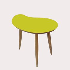 Coloured Comma Shape Table