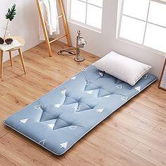 100% Cotton Folding Tatami Mattress 47x79inch Thickened Dampproof Mattress Topper Ground Floor Sleeping pad-F 120x200cm