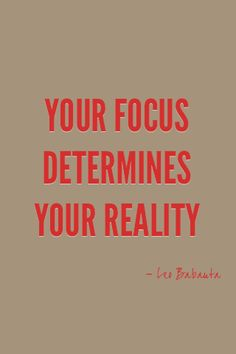 Stay focused on your goals and you will succeed.
