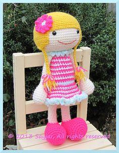 Ravelry: Huggy Izzy Amigurumi Crochet Pattern pattern by Sayjai Thawornsupacharoen
