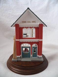 1989 QX4582 Hallmark Nostalgic Houses & Shops #6 Ornament - Post | vintage hallmark collectibles artwork home decor belleek lalique