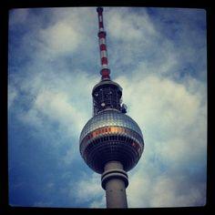 Fernsehturm   TV Tower v Berlin, Berlin