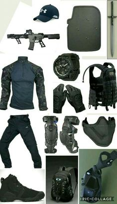 IDK A Soldier And Stereotypical Gangster Combo? Tactical Wear, Tactical Clothing, Tactical Survival, Survival Gear, Armas Airsoft, Apocalypse Gear, Airsoft Gear, Combat Gear, Tac Gear