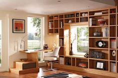 Study Library - Home Study Furniture - Neville Johnson