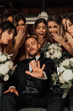 Groom's Fun ★ Tips and ideas to add to your wedding photography list. Best romantic poses and details for your inspiration. Groom's Fun ★ Tips and ideas to add to your wedding photography list. Best romantic poses and details for your inspiration. Wedding Goals, Wedding Pics, Wedding Planning, Wedding Funny Pictures, Wedding Family Photos, Best Wedding Ideas, Bride And Bridesmaid Pictures, Bridesmaid Poses, Wedding Types