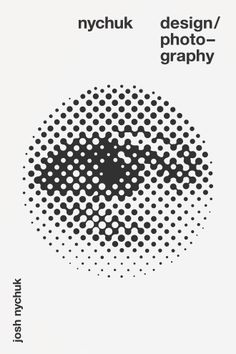 The eye / Graphism / visuel / Noir et blanc / Black and White / pointillés / circle / oeil / yeux / ojo / affiche Best Picture For Graphic Design typography For Your Taste You are looking for somethin Graphic Design Posters, Graphic Design Typography, Graphic Design Illustration, Graphic Design Inspiration, Circle Graphic Design, Graphic Design Company, Book Design, Cover Design, Layout Design