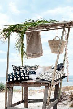 Purple Area - outdoor living - boho chic - beach
