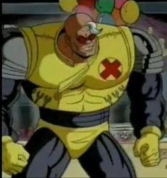 strong guy (x-factor) X Men, Men Tv, Strong Guy, Iron Man, Marvel Comics, Ronald Mcdonald, Tv Series, Comic Books, Superhero