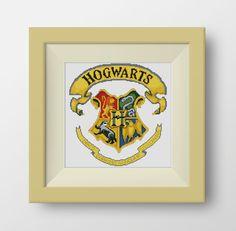 PDF Cross Stitch Pattern for the  Hogwarts -  PDF counted cross stitch pattern - Harry Potter - Harry Potter Hogwarts, P078 by NataliNeedlework on Etsy