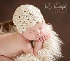 Ravelry: Antique Pearl Hat Crochet pattern by Melody Rogers Crochet Baby Hat Patterns, Crochet Kids Hats, Diy Baby Gifts, Baby Crafts, Bonnet Crochet, Hat Crochet, Girl With Hat, Vintage Patterns, Baby Knitting