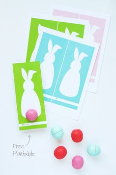 Click the link above to download our free printable Easter Bunny Card to hold an EOS Lip Balm. The file includes 5 color options including the three colors (green, aqua and pink) shown plus gray an...