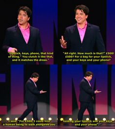 Michael McIntyre, you always make me giggle