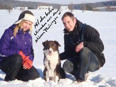 Liebe Grüße aus dem Schnee von Sascha, Nancy und Charly!