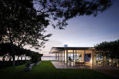 Garden Design Fishers Island Glass House