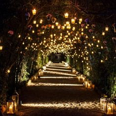 #romantic entrance of a private client' s wedding at Villa Aurelia in #Rome #italy #photo #photooftheday #nofilter #nofilterneeded #candles #entrance #lights #green #palazzigas #palazzigasevents #wedding #inspiration #event #love