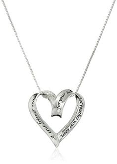 """1"""" Sterling Silver Heart Chain With Heart Puffy Charm Anklet In Pain Fine Jewelry 9"""""""
