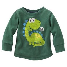 Jumping Beans Graphic Thermal Tee - Baby