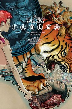Time to binge-read Fables so I can play The Wolf Among Us