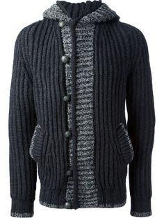 CORTO MALTESE BY HUGO PRATT hooded cardigan