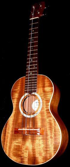 Haiku Tenor #LardysUkuleleOfTheDay ~ https://www.pinterest.com/lardyfatboy/lardys-ukulele-of-the-day/ ~  a proper Hawaiian Ukulele