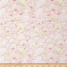 Cloud 9 Revelry Organic Voile Spree from @fabricdotcom  Designed for Cloud 9 Fabrics, this organic cotton print voile fabric has a soft hand, excellent drape, and is slightly sheer. This fabric is perfect for apparel such as blouses, tunics and dresses. This fabrics has GOTS certification. Colors include pink, yellow and cream.