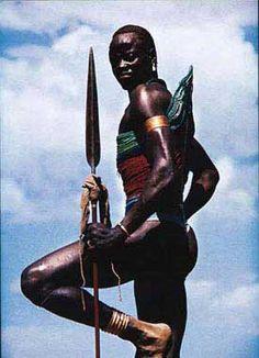 Dinka man, South Sudan