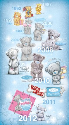 ... vulnerable and gentle characteristics of tatty teddy remain intact