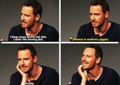 Michael Fassbender - 'Frank' Q & A at the Soho Apple Store (2014)