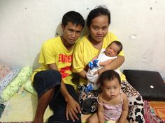The 1st baby born in our ILSC Shelter Home - not on the street. It's a new beginning for this family!