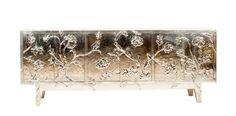 Dering Hall - Buy Floral Credenza by Stephanie Odegard - Credenzas - Storage - Furniture