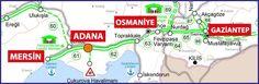 ADANA-İNCİRLİK-OSMANİYE-GAZİANTEP Hızlı Demiryolu Projesi