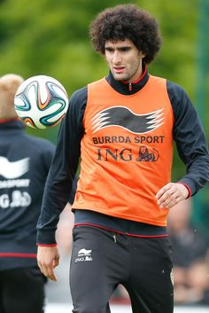 Marouane Fellaini, Rode Duivel.