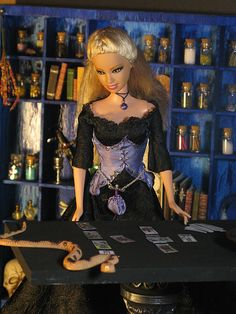 Brigid by Etheria Dolls & Thimble House Wiccan, Magick, Barbie Funny, Barbie Humor, Male Witch, Tarot Learning, Witch Fashion, Tarot Card Meanings, Tarot Card Decks