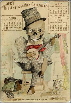 The Antikamnia Chemical Company calendar, May-June 1901